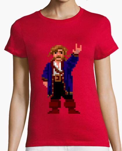 Tee-shirt guybrush threepwood (femme)