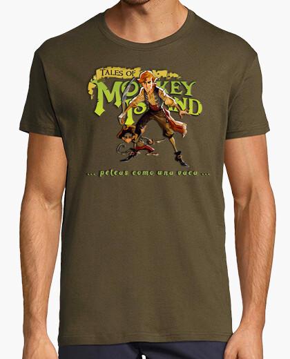 Camiseta Guybrush Threepwood peleas como...