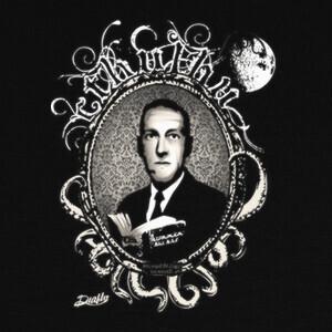 Camisetas H. P. LOVECRAFT