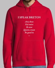 hablo bretón - sudadera ligera hombre