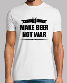 hacer la cerveza no la guerra