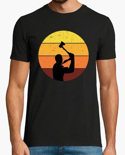 Camiseta hacha lanzador lanzador hacha...
