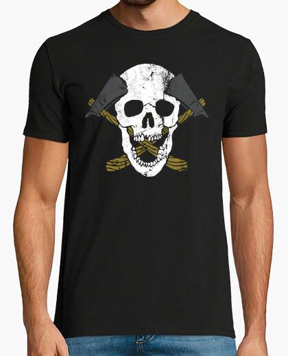 Camiseta Hachas de cráneo