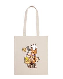 haciendo im woofles - bolso de mano