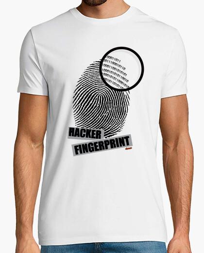 Camiseta Hacker Fingerprint