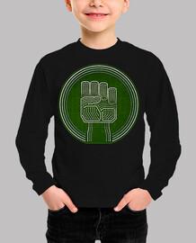 hacker fist