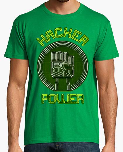T-Shirt hacker macht