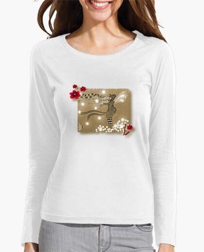 Camiseta Hada con flores