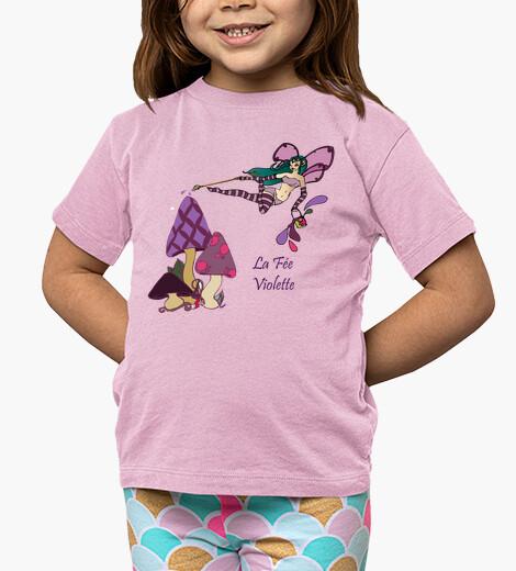 Ropa infantil Hada Violette