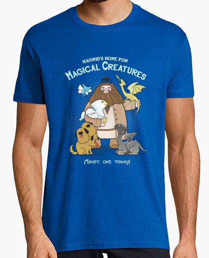 Camiseta hagrid hogar para criaturas mágicas