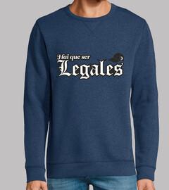 Hai que ser legales