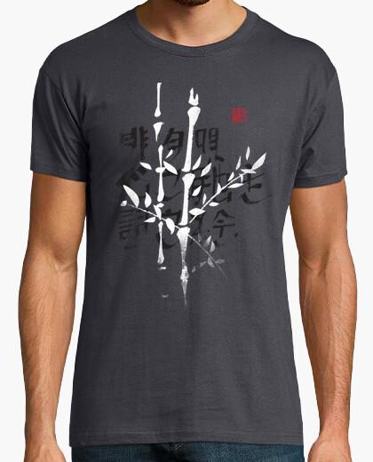 Camiseta haiku bambú 1