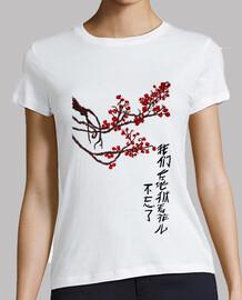 Haikú en chino (chica)