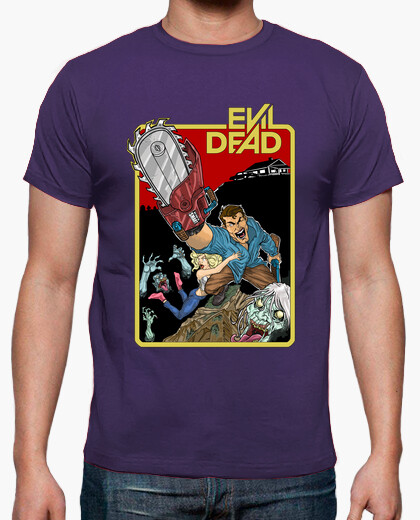 Evil Dead Hail To The King Video Game T-shirt