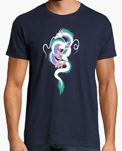 Camiseta haku el espíritu río camisa para hombre