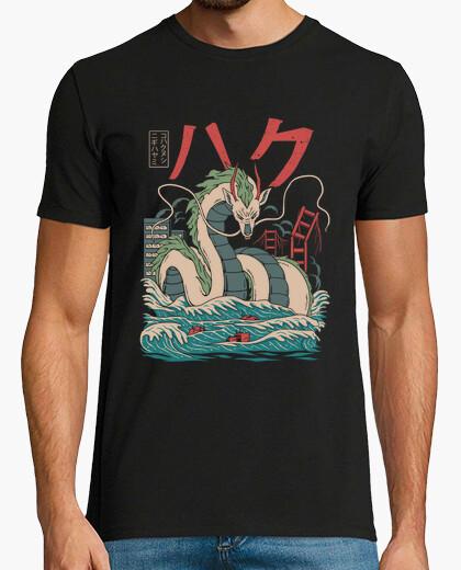 T-Shirt haku kaiju hemd herren
