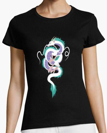 Camiseta haku la camisa de la mujer espíritu río