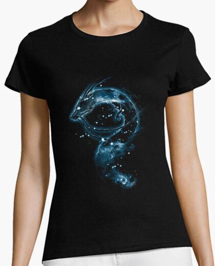 Tee-shirt haku nebula - version bleue