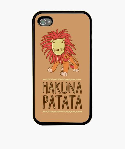 Coque iPhone hakuna la pomme de terre