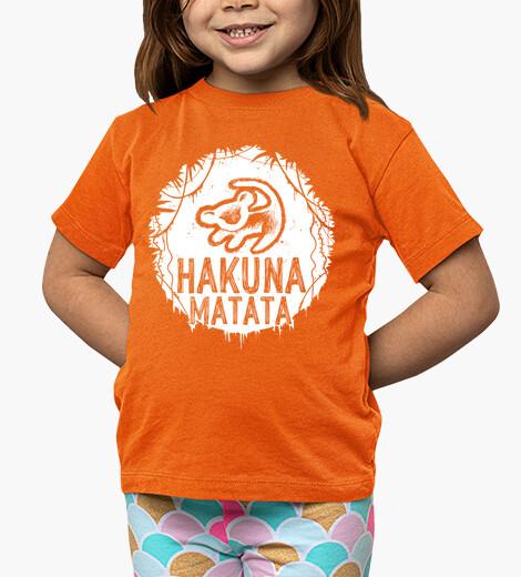 Abbigliamento bambino hakuna matata