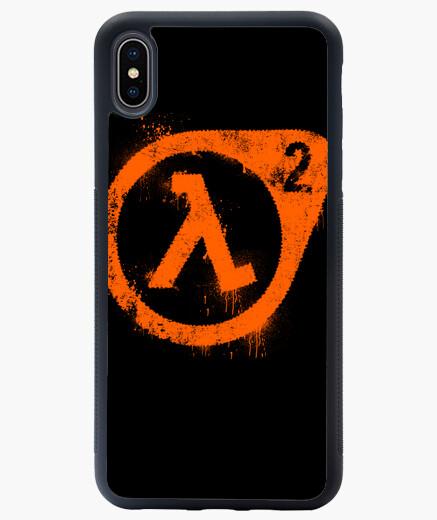 Funda iPhone XS Max Half-life logo (graffiti)