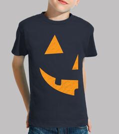half pumpkin halloween left