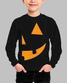 half pumpkin halloween right