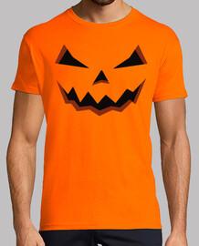 halloween-kürbis mann