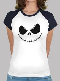 Halloween - Camiseta estilo béisbol para chica