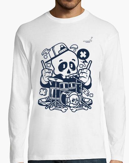 Camiseta Halloween Batería