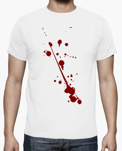 Halloween blood stains t-shirt