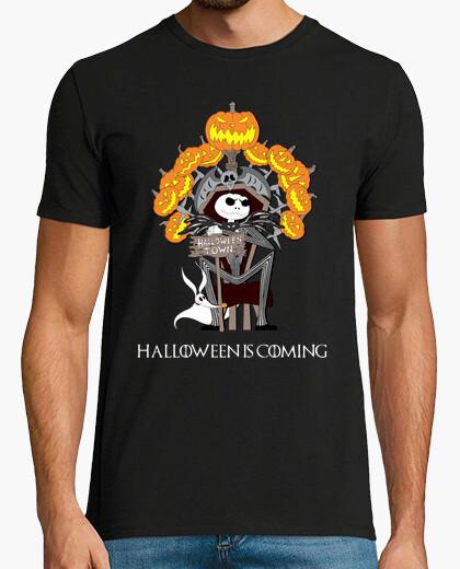 Tee-shirt halloween est coming