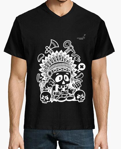 Camiseta Halloween Indio