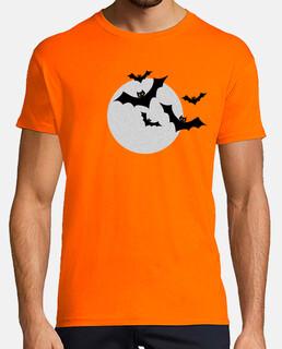 halloween moon vampires