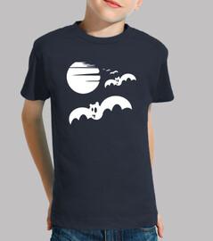 halloween murciélagos blancos