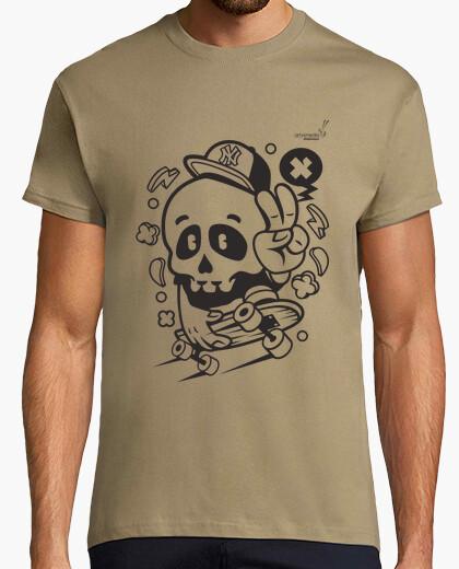 Camiseta Halloween Skate