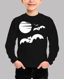 halloween white bats