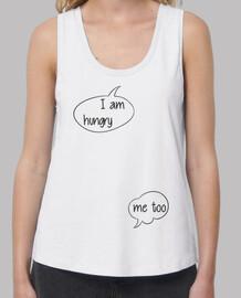 hambre - camiseta