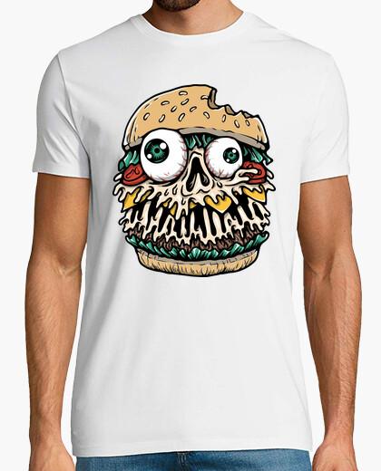 T-Shirt Hamburger Monster