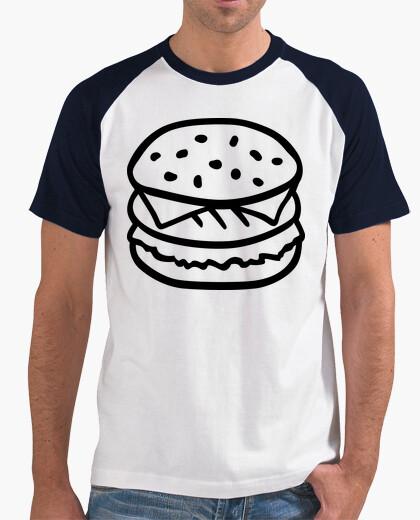 Camiseta hamburguesa con queso