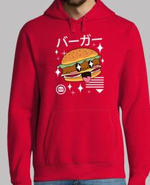 hamburguesa kawaii