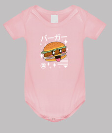 hamburguesa kawaii