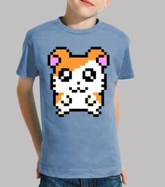 Hamtaro 8bit (Camiseta Niño)