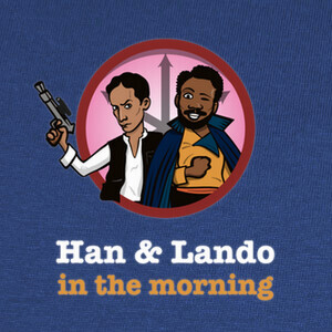 Camisetas Han and Lando