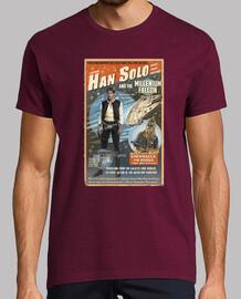 Han Solo Millenium Falcon Chewbacca Wook