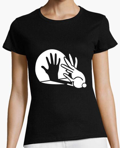 Hand rabbit t-shirt