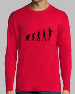handball  tee shirt   homme  design 2