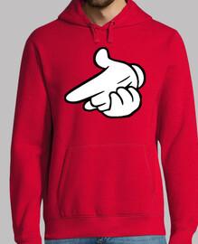 Hands - Bang! (Sudadera Chico)
