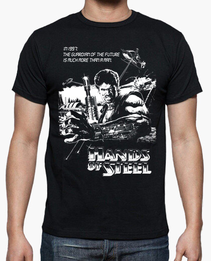 Camiseta Hands of Steel [H]