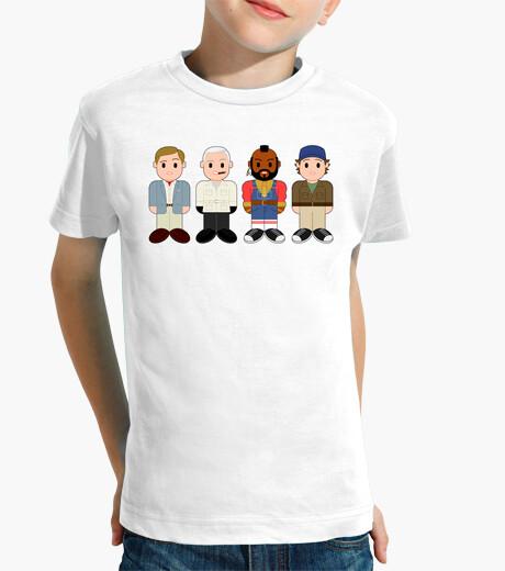 Hannibal, faceman, ba & murdoch kids clothes